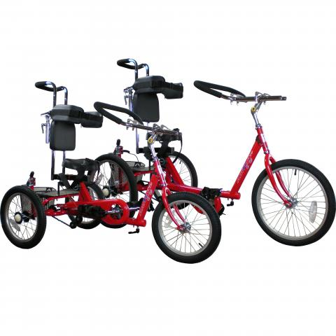 Amtryke Proseries Tricycle (Models 1412, 1416, & 1420)
