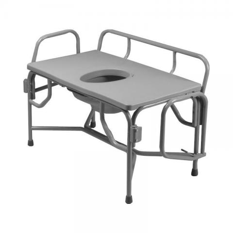Grand Line Extra Extra Wide Heavy Duty Drop Arm Bariatric Commode