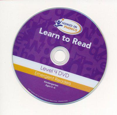Hooked on Phonics Learn to Read - Level 4: Emergent Readers (Kindergarten | Ages 4-6)