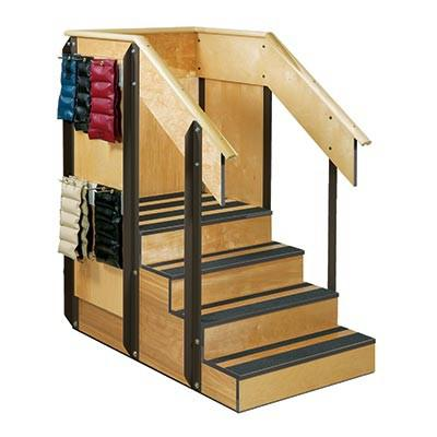 Staircase Storage Island With 3 Sides